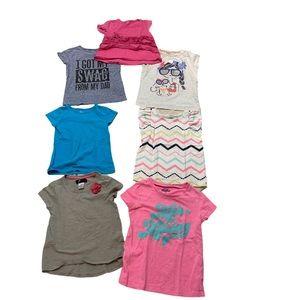 🦄 7 shirts for $20 girl's Tees🦄